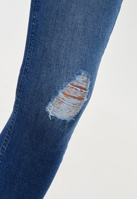 ONLY - MID ANKLE RAW - Jeans Skinny Fit - dark blue - 3