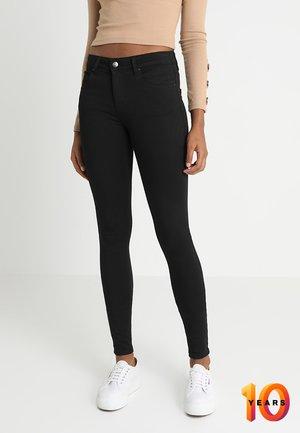 ONLEXK MID WAIST - Skinny džíny - black denim