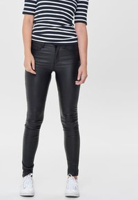 ONLY - ANNE - Trousers - black - 0