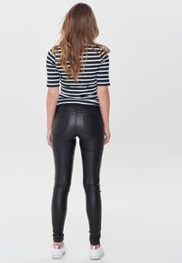 ONLY - ANNE - Trousers - black - 2