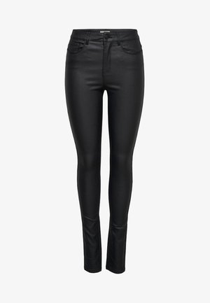ANNE - Trousers - black