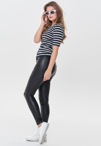 ONLY - ANNE - Trousers - black - 1