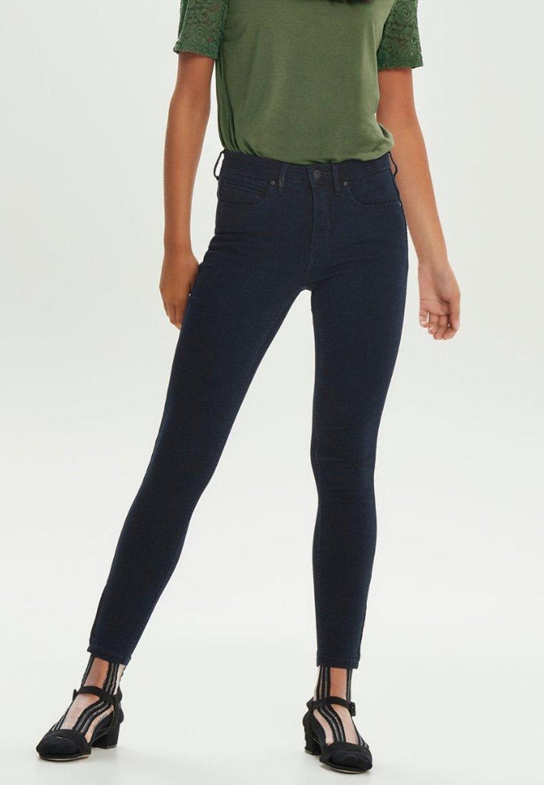 ONLY - KENDELL  - Jeansy Skinny Fit - dark blue denim