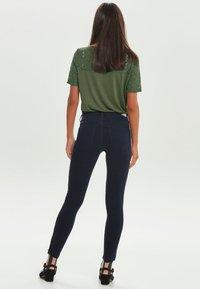 ONLY - KENDELL  - Jeansy Skinny Fit - dark blue denim - 2
