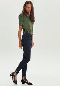 ONLY - KENDELL  - Jeansy Skinny Fit - dark blue denim - 1