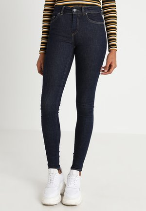 ONLBLUSH - Skinny džíny - dark blue denim