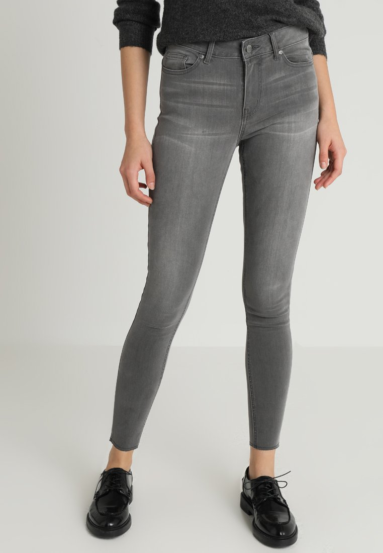 ONLY - ONYPEARL RAW - Jeans Skinny Fit - medium grey denim