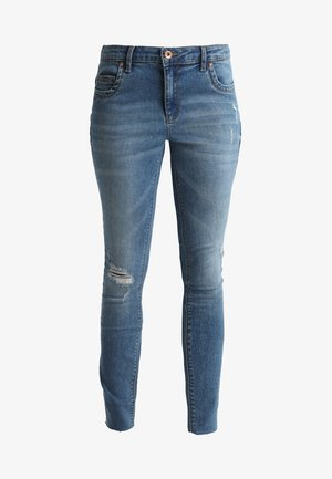 ONLTISHA - Jeans Skinny Fit - medium blue denim