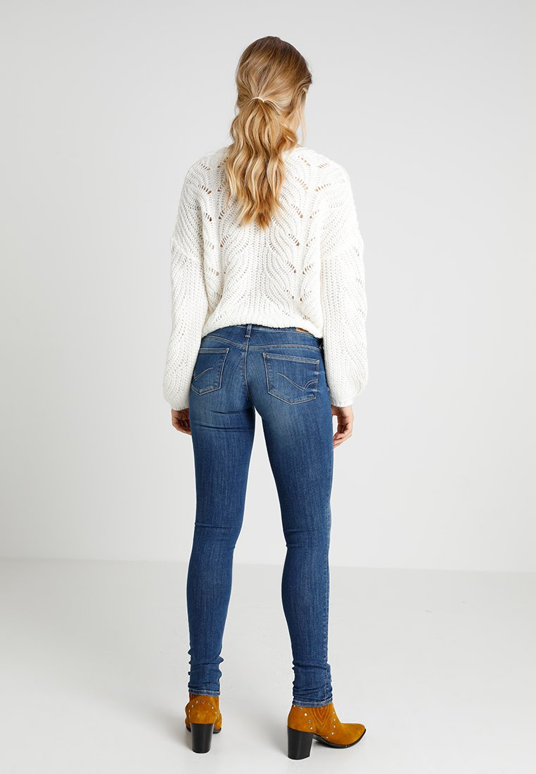 ONLY ONLCORAL - Jeans Skinny Fit - medium blue denim