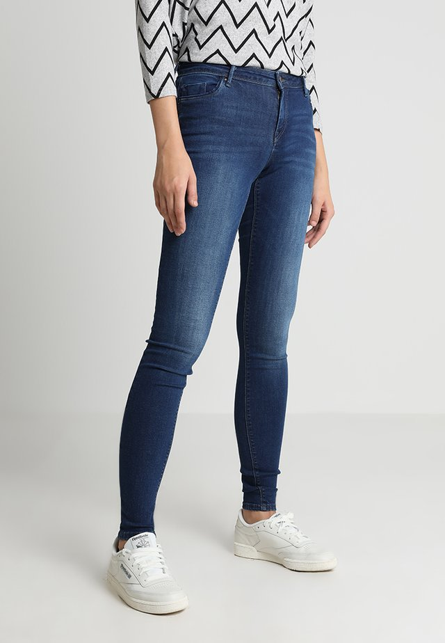 ONLALLAN  PUSHUP - Jeans Skinny Fit - dark blue denim