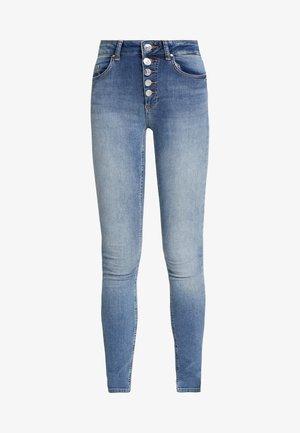 ONLBLUSH BUTTON - Jeans Skinny Fit - medium blue