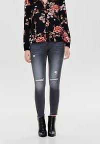 ONLY - Jeans Skinny Fit - grey denim - 0