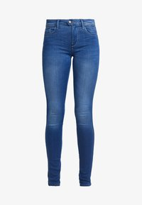 ONLY - ONLCARMEN LIFE - Jeans Skinny Fit - medium blue denim - 4