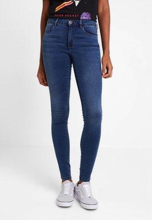 ONLRISK ROYAL SKINNY  - Jeans Skinny Fit - dark blue denim