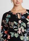 ONLY - ONLNOVA 3/4 TIE  DRESS - Korte jurk - black