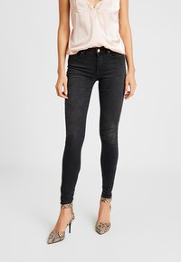 ONLY - ONLZALA - Skinny-Farkut - black denim - 0