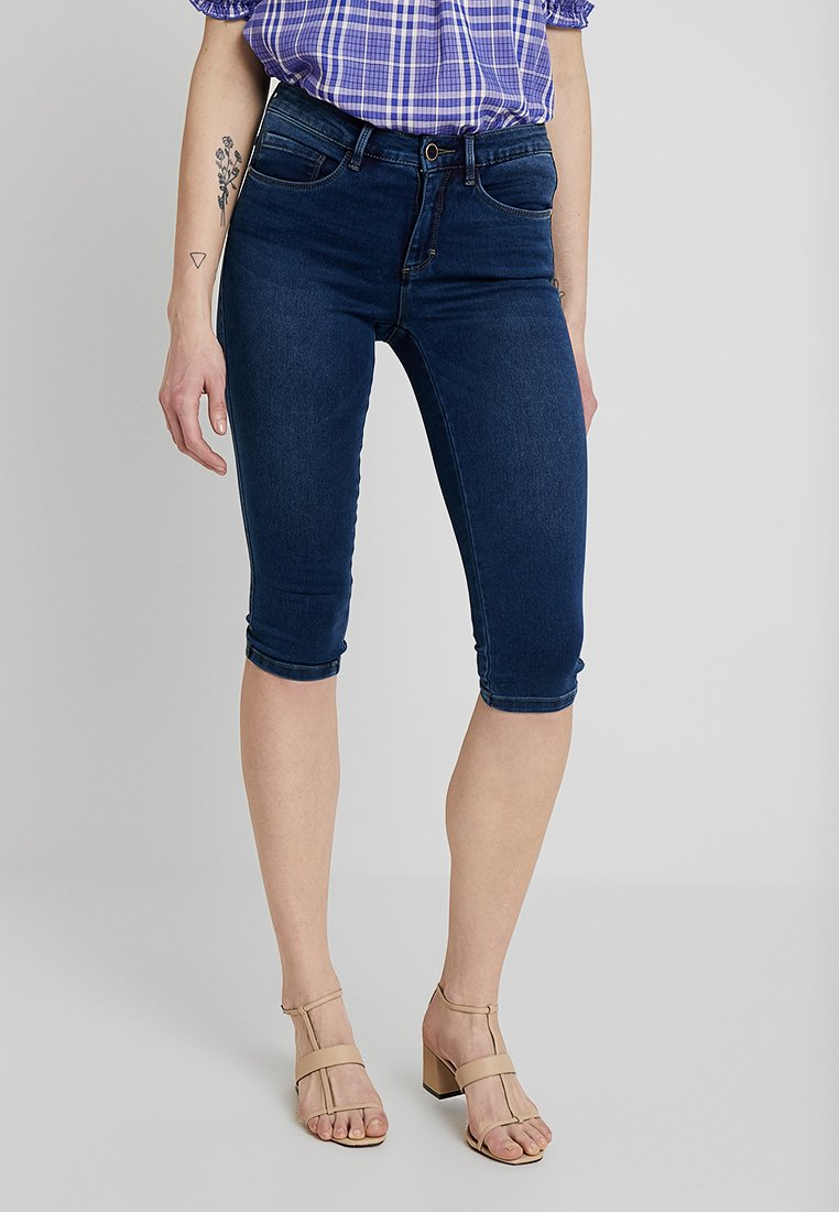 ONLY - ONLROYAL KNICKERS - Shorts di jeans - dark blue denim