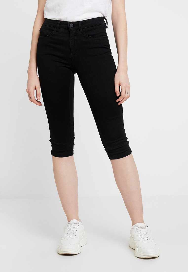 ONLY - ONLROYAL KNICKERS - Jeans Shorts - black denim