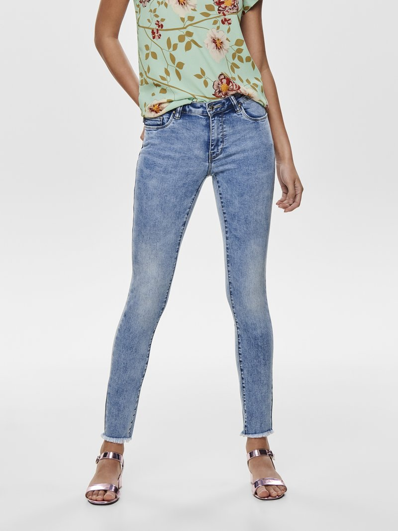 ONLY - CARMEN - Jeans Skinny Fit - light blue denim