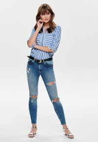 ONLY - Jeans Skinny Fit - medium blue denim - 1