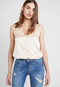 ONLY - ONLCARMEN REG  - Jeans Skinny Fit - light blue denim - 3