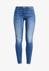 ONLY - ONLKENDELL REG ANKLE - Vaqueros pitillo - medium blue denim - 5