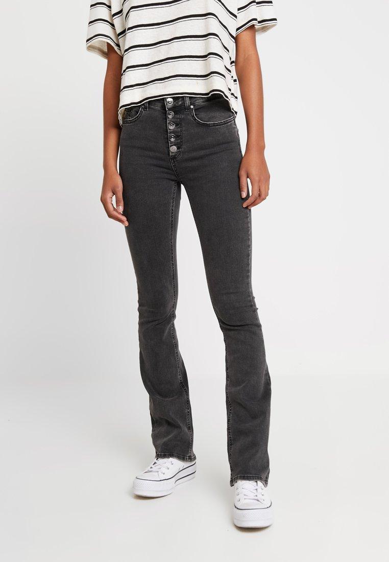 ONLY - ONLBLUSH SWEET FLARED - Flared jeans - black denim