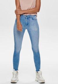 ONLY - Jeans Skinny Fit - light blue denim - 0