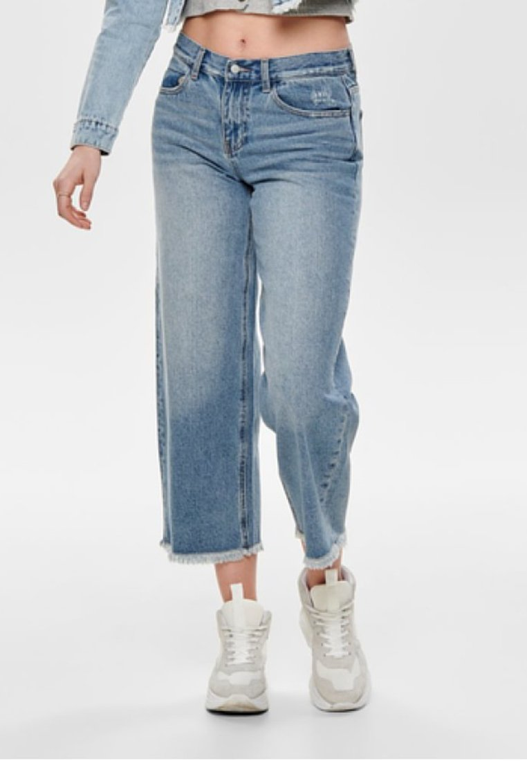ONLY - Jeans Relaxed Fit - medium blue denim