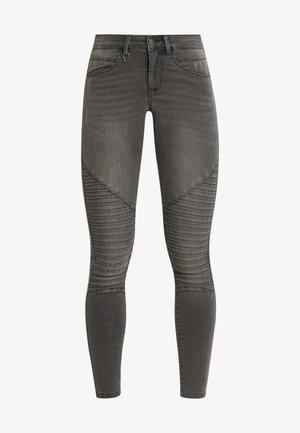 ONLROYAL BIKER - Jeans Skinny Fit - dark grey denim