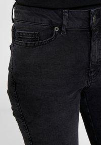 ONLY - ONYANNE MID ANKLE - Jeans Skinny Fit - black denim - 3