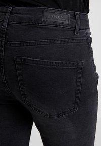 ONLY - ONYANNE MID ANKLE - Jeans Skinny Fit - black denim - 5