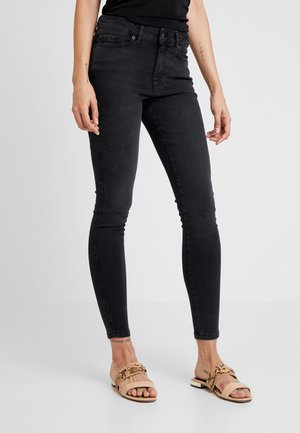 ONYANNE MID ANKLE - Jeans Skinny Fit - black denim