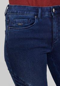 ONLY - ROYAL BIKER - Skinny džíny - dark blue denim - 5