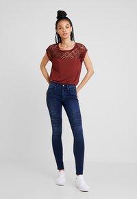 ONLY - ROYAL BIKER - Skinny džíny - dark blue denim - 1
