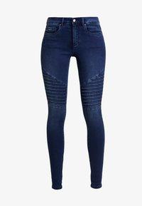 ONLY - ROYAL BIKER - Skinny džíny - dark blue denim - 4