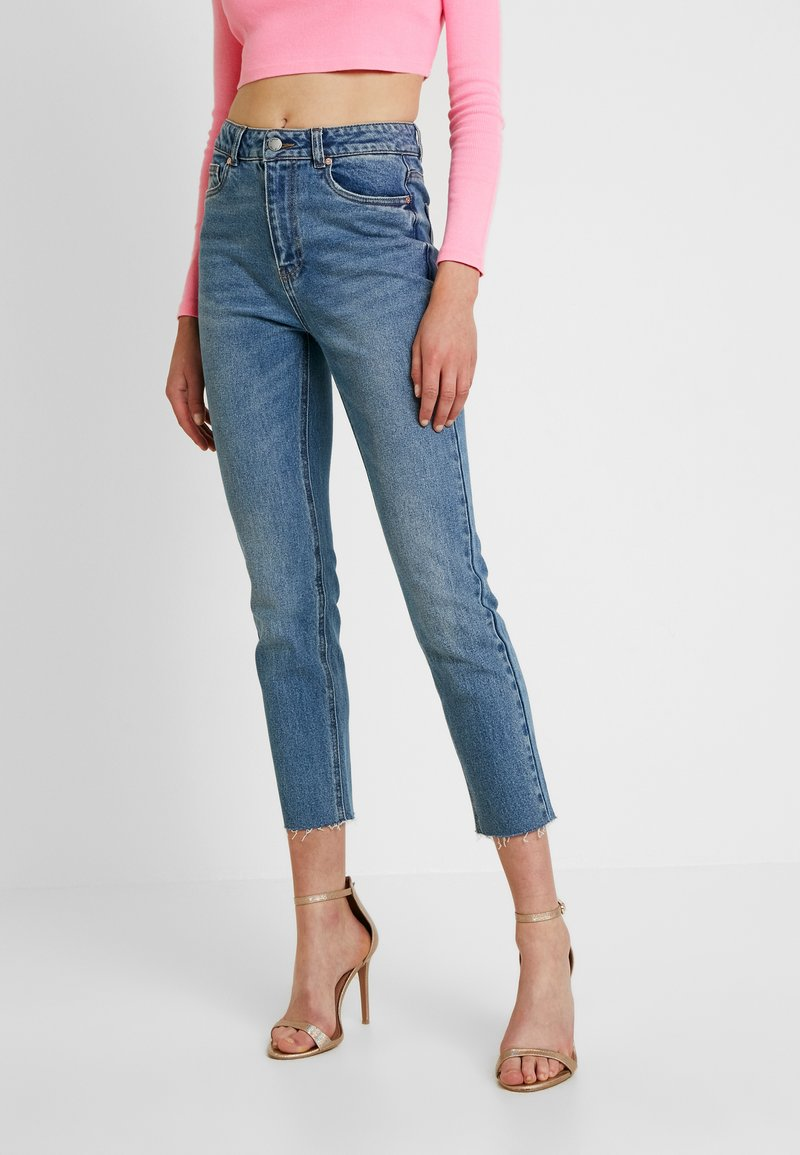 ONLY - ONLEMILY ANKLE - Jeans Skinny Fit - medium blue denim