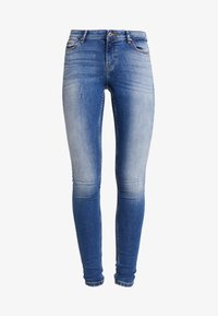 ONLY - ONLCARMEN - Jeans Skinny Fit - dark blue denim - 3