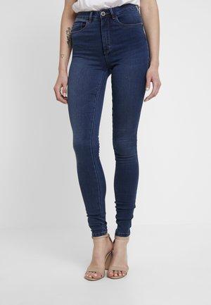 ONLROYAL - Skinny džíny - dark blue denim