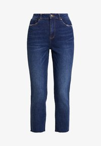ONLY - ONLEMILY HIGHWAIST  - Jeans a sigaretta - dark blue denim - 3