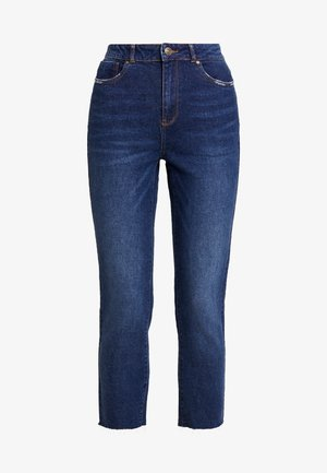 ONLEMILY HIGHWAIST  - Jeans straight leg - dark blue denim