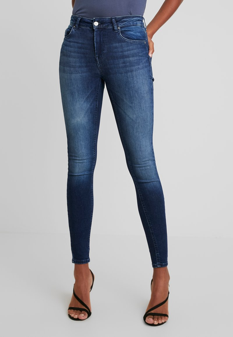 ONLY - ONLBLUSH MID - Jeans Skinny Fit - dark blue denim