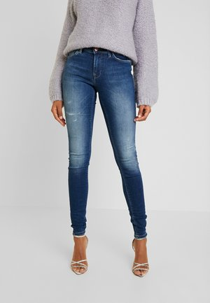 ONLCARMEN REG - Jeans Skinny Fit - dark blue denim