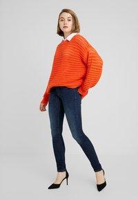 ONLY - ONLCORAL - Jeans Skinny Fit - dark blue denim - 1