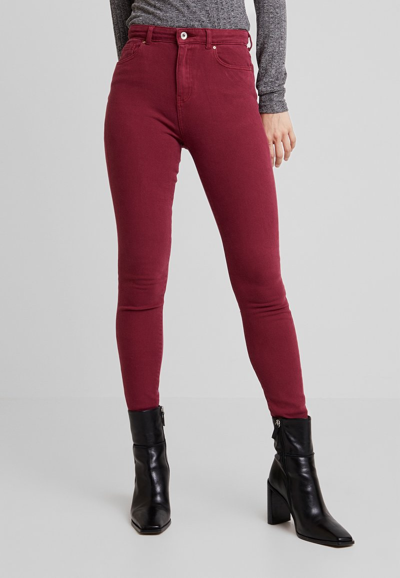 ONLY - ONLFMILA LIFE - Jeans Skinny Fit - tawny port