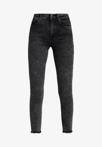 ONLY - ONLBLUSH MID ACID - Jeans Skinny Fit - black denim - 4
