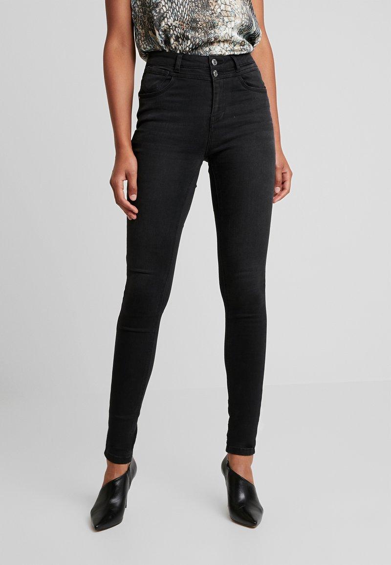 ONLY - ONLCHRISSY - Jeans Skinny Fit - black denim