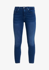 ONLY - ONLDOOLEY MID JEANS - Jeans Skinny - medium blue denim - 4