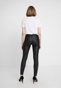 ONLY - ONLROYAL COATED PANT - Skinny džíny - black - 2