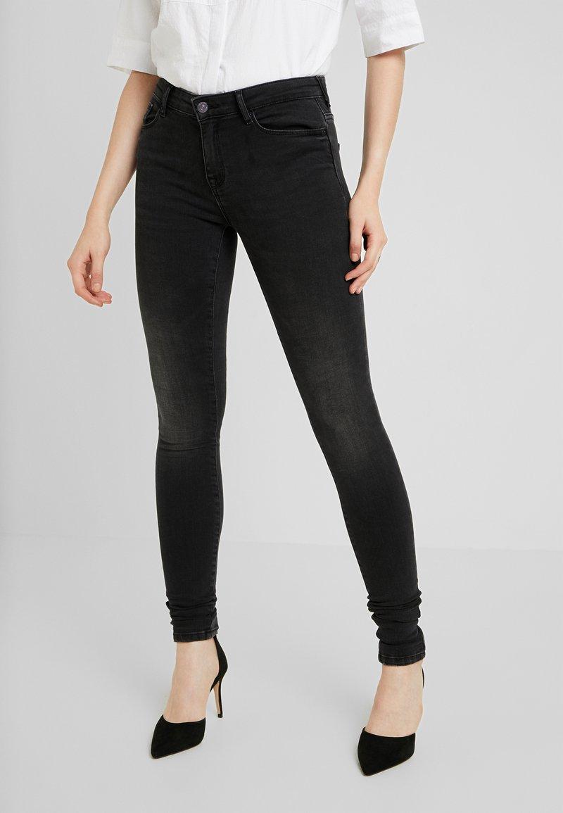 ONLY - ONLSHAPE LIVA  - Jeans Skinny Fit - black denim